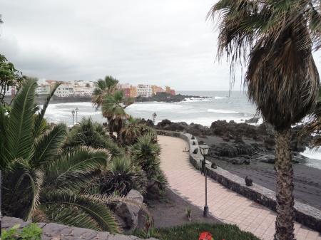 Playa Jardín  y Punta Brava