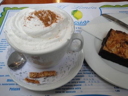 cappuccino y florentina