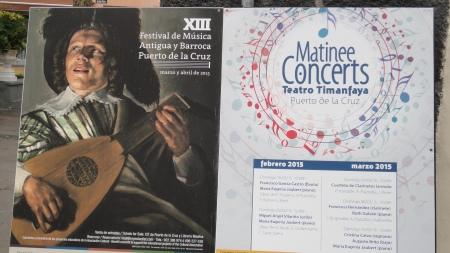 Teatro Timanfaya matinee concerts