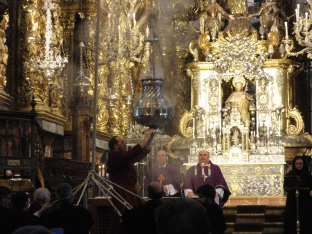 misa para los peregrinos