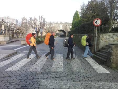 Abbey Road -  Imágenes del Camino de Santiago