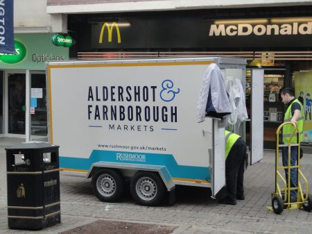 Aldershot and Farnborough Markets