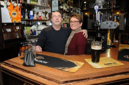 Councillor Bruce Thomas runs La Fontaine pub in Aldershot