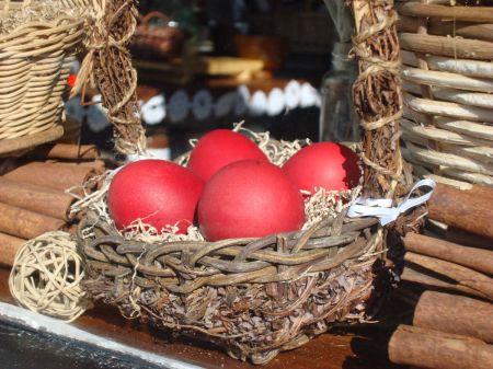 Easter eggs in Milk and Honey