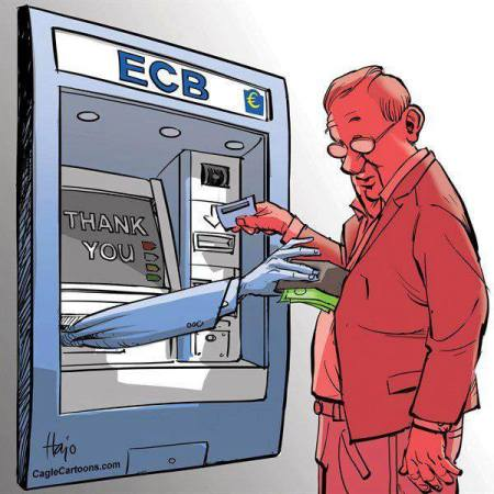 ECB at work
