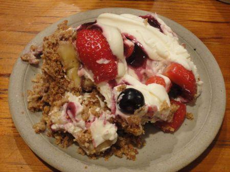 strawberry scrunch