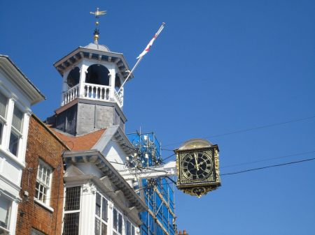 Guildhall and clock