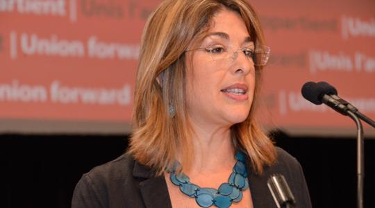 Conférence de Naomi Klein à Paris