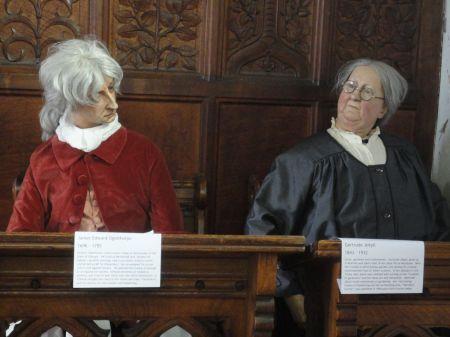James Edward Oglethorpe and Gertrude Jekyll