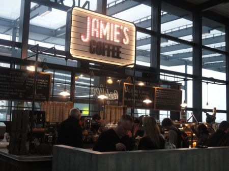 Jamie's Coffee Lounge at Gatwick North Terminal