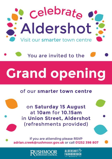 Celebrate Aldershot
