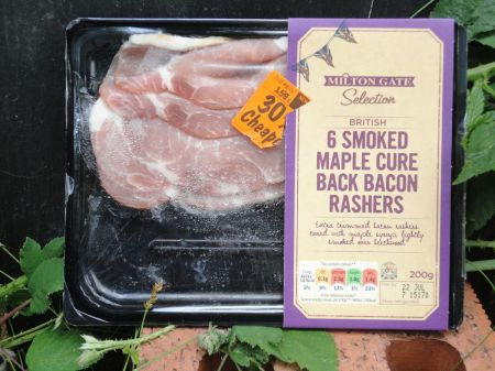 Lidll Aldershot pack of six rashers of bacon reduced