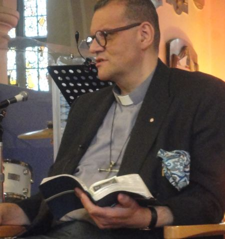 Andrew White at St John's Stoke