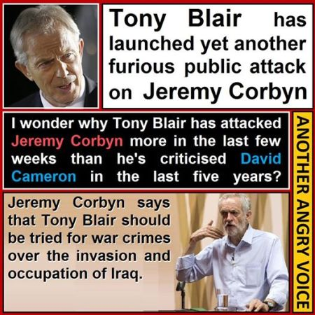 Jeremy Corbyn: Tony Blair on trial if there is the evidence