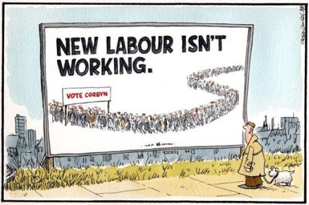 Vote Corbyn  New Labour Isn't Working