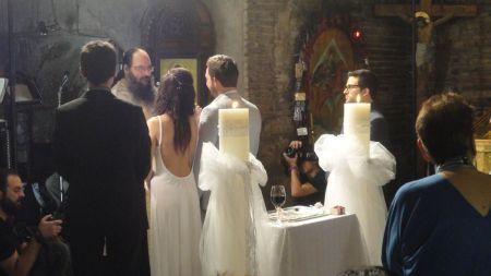 Greek wedding at Ayios Demetrios Loubardiaris