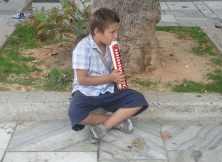gypsy street musician