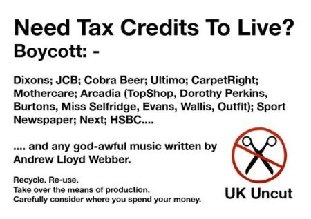 Need Tax Credits to live?