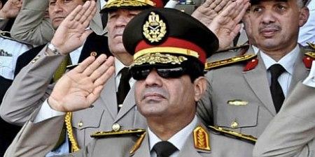 Fascist military dictator President al-Sisi