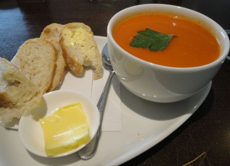 soup at Cafe Mila