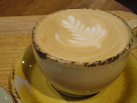 cappuccino in Harris + Hoole
