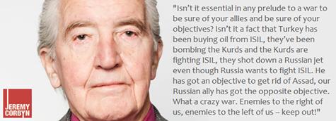 Dennis Skinner on Isis