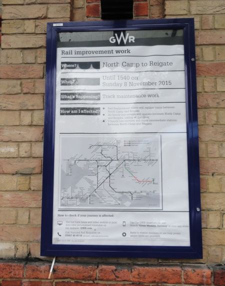 railworks inadequate information at stations