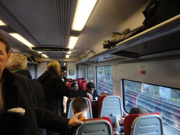 overcrowded SouthWestTrains