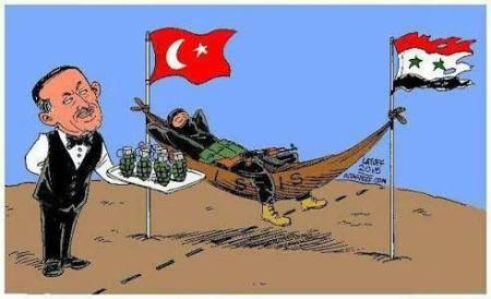 Turkey supports Isis