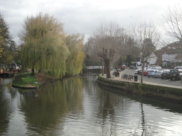 wintry River Wey
