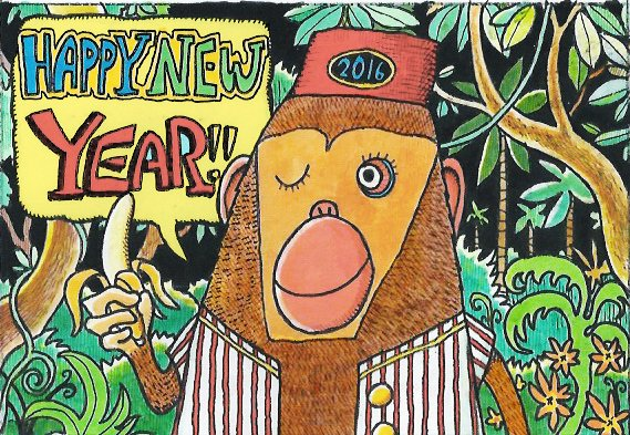 Happy New Year - Ken Crane