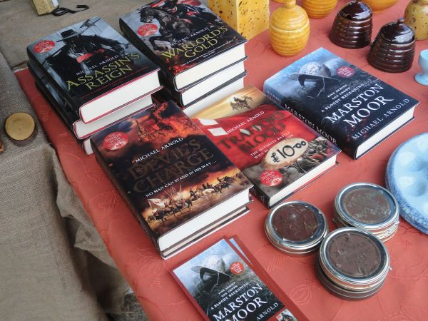 historical novels by Michael Arnold