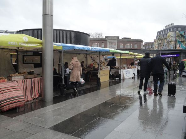 Kings Cross Station market