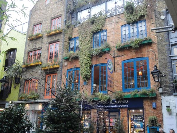 Wild Food Cafe in Neal's Yard