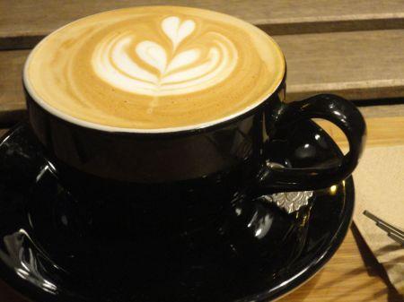 cappuccino at Pelicano Coffee and Tea House