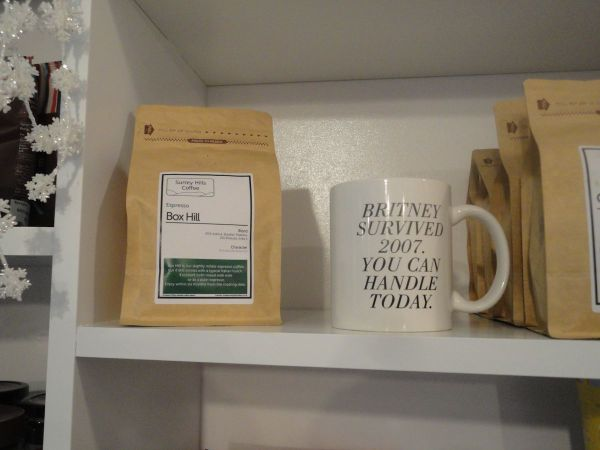 coffee beans at Turn Fit Deli