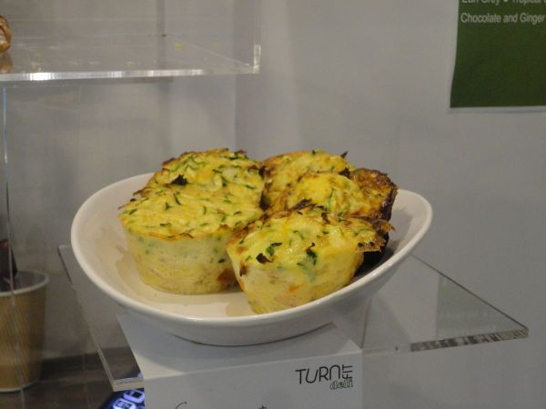 egg and bacon muffins