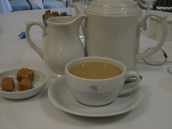 tea and fudge