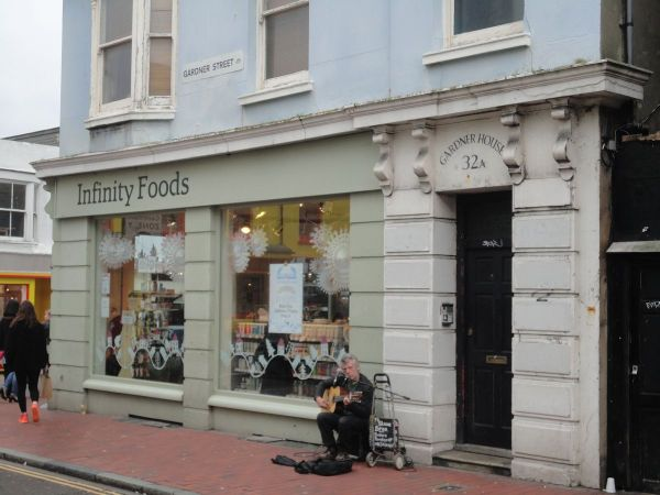 Infinity Foods worker co-op in Brighton