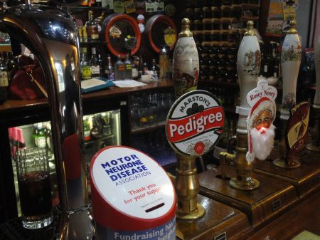 choice of real ales