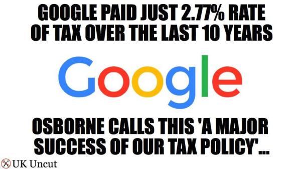 Google tax dodging