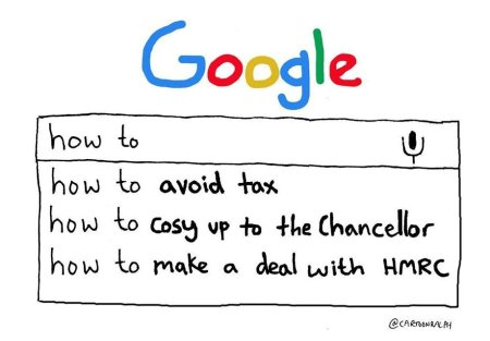 Google tax scam