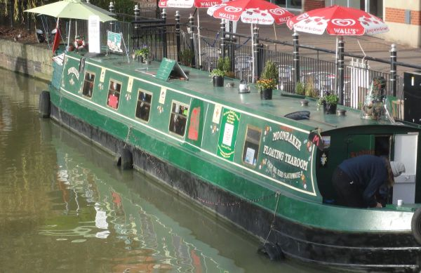 Moonraker Floating Tearoom