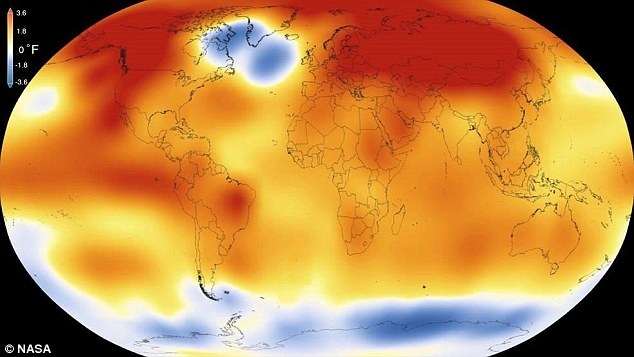 20115 hottest year on record