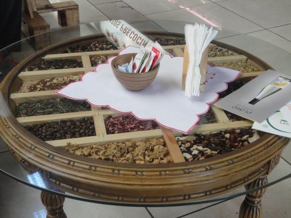 una mesa