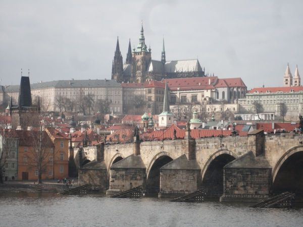 PPrague Castle and Charles Bridge