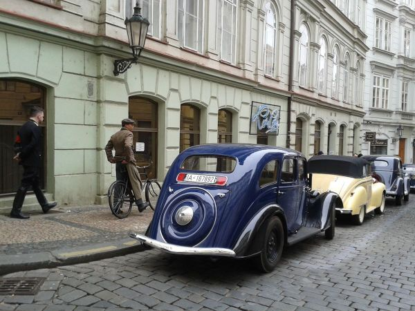 German occupation in Prague