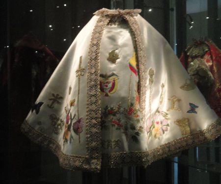 cloak worn by the Infant Jesus