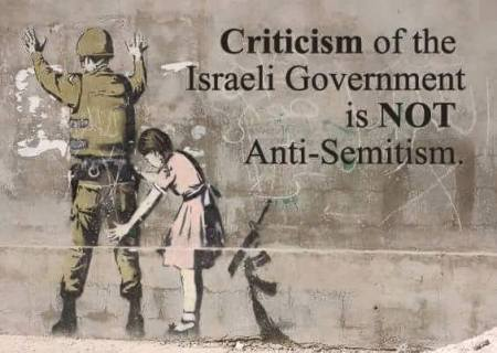 criticism of the Israeli government is not anti-Semitism