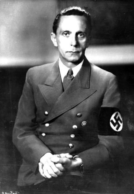 Joseph Goebbels Reich Minister of Propaganda in Nazi Germany
